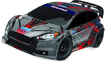 Traxxas 1/10 Scale Remote Control AWD Ford Fiesta ST Rally Race Car with TQ 2.4GHz Radio