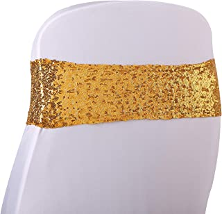 sequin chair bands