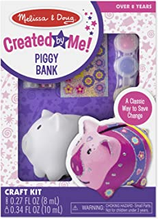 Melissa & Doug Created by Me! Piggy Bank Decorate-Your-Own Craft Kit