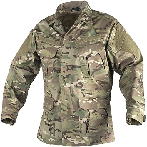 Official Website Top Quality Mens Summer Military Uniform Tactical Camouflage Long Sleeve Shirt Mens Outdoor Work Clothes Combat Suit Always Buy Good Work Wear & Uniforms Novelty & Special Use