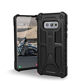URBAN ARMOR GEAR UAG Designed for Samsung Galaxy S10e [5.8-inch Screen] Monarch [Black] Military Drop Tested Phone Case