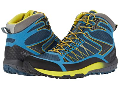 Asolo Grid Mid GV (Indian Teal Yellow) Men