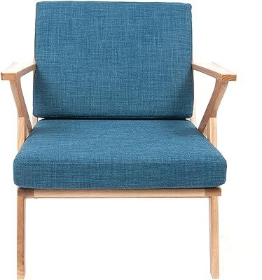 Générique Fauteuil Arm Chair Bleu Navy 1960