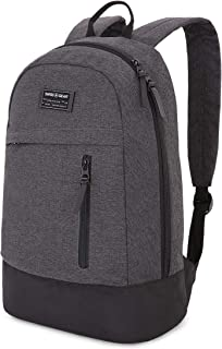 SWISSGEAR 5319 Laptop Backpack for Men and Women, Ideal for Commuting, Work, Travel, College, and School, Fits 13 Inch Laptop Notebook - Grey Heather