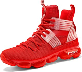 Kid's Basketball Shoes High-top Sports Shoes Sneakers Durable Lace-up Non-Slip..