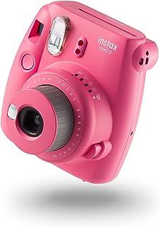Fujifilm Instax Mini 9 - Cámara instantánea, Cámara con  10 películas, Rosa
