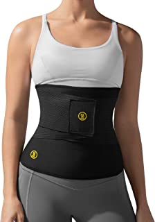 Hot Shapers Hot Belt with Waist Trainer – Women's Tummy Trimmer and Girdle for Weight Loss, Control Stomach for Workouts, Slimming and Shaping and Enhanced Sweat