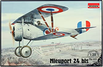 Roden 1:32 Nieuport 24 bis French WWI Fighter Plastic Aircraft Model Kit #611
