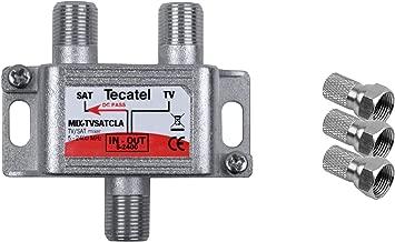 Tecatel TV Satélite - Mezclador de señal satélite y televisión