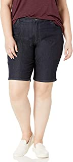 Women's Plus-Size Comfort Waist Bermuda Short