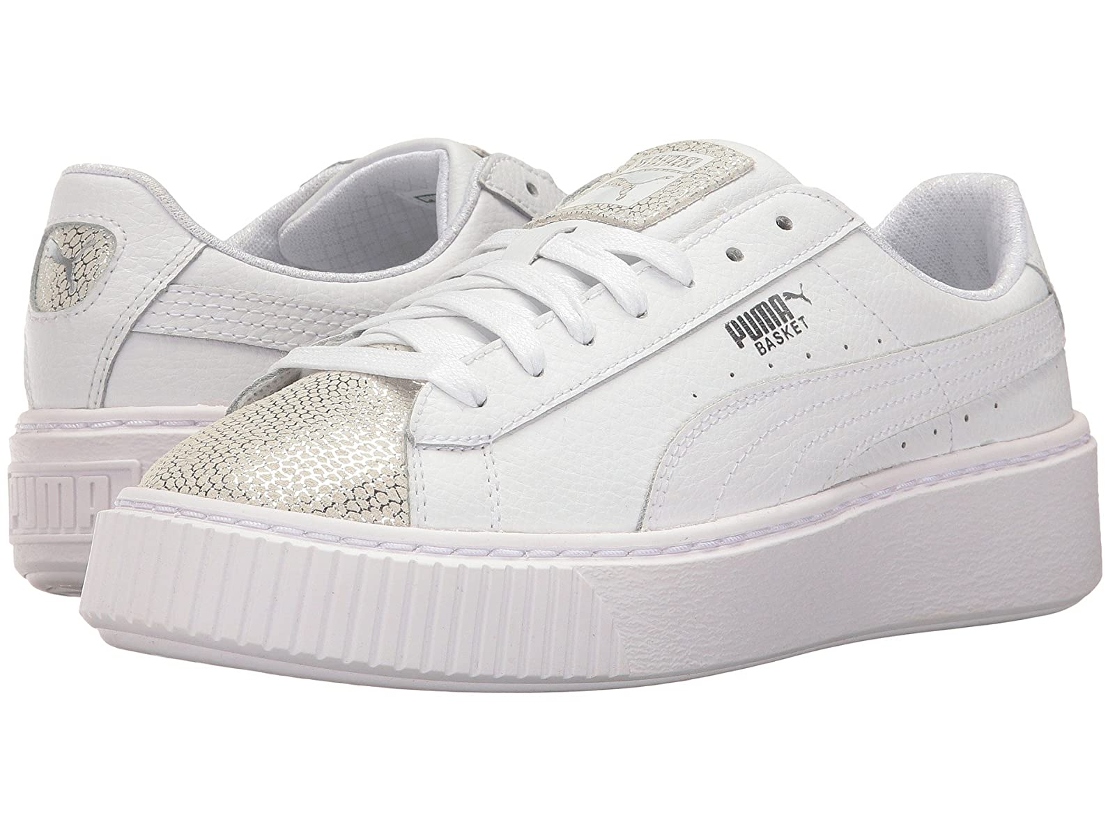 Puma Basket Kids Basket Puma Platform Glitz (Big Kid) ab25fb