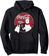 Coca-Cola Holiday Cheers Polar Bear Circle Logo Pullover Hoodie