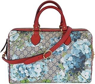 Women's GG Supreme BLOOMS Convertible Boston Bag