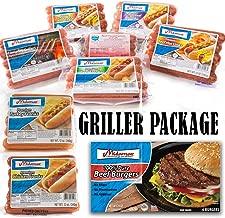 Midamar Halal Griller Package - Hot Dogs, Grillers, Burgers, Franks