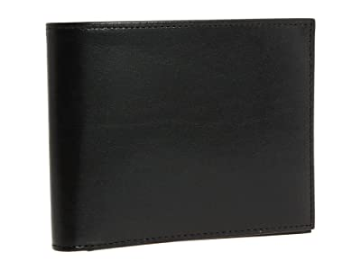 Bosca Old Leather Collection Executive ID Wallet (Black Leather) Bi-fold Wallet
