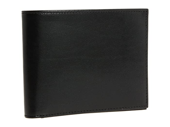 Bosca  Old Leather Collection - Executive ID Wallet (Black Leather) Bi-fold Wallet