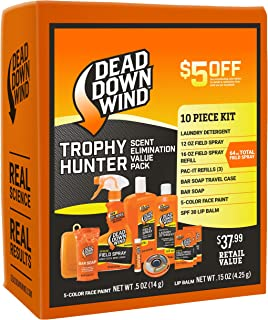 Dead Down Wind Trophy Hunter Kit – Scent Elimination for...