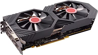 XFX Radeon RX 580 GTS Black Edition 1425MHz OC+, 8GB GDDR5, VR Ready, Dual BIOS, 3xDP HDMI DVI, AMD Graphics Card (RX-580P...
