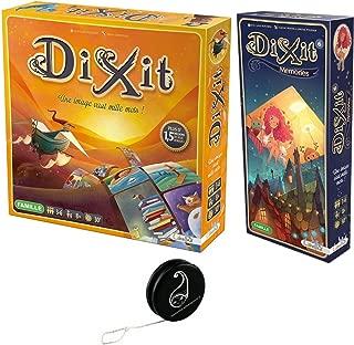 Lot 2 Jeux DIXIT de LIBELLUD: Dixit + Extension Memories + 1 Yoyo Blumie