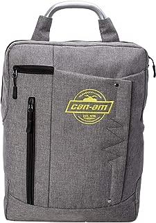 boho canvas backpack