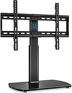 FITUEYES Universal TV Stand Base Swivel Tabletop TV Stand with Mount for 32 to 65 inch..