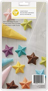 Wilton Stars Candy Mold,Clear