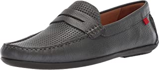 MARC JOSEPH NEW YORK Mens Leather Union Street Driver Driving Style Loafer
