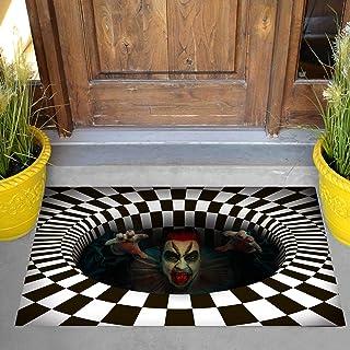 "JOYIN 30"" x 17"" Halloween 3D Vortex Illusion Doormat, Stereo Vision Hole Natural Coir Scary Door Mat, Indoor/Outdoor Decor..."