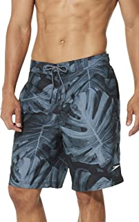Mens Swim Trunk Knee Length Boardshort E-Board Comfort...