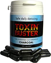 Toxin Buster Potentised Pure Hardwood Charcoal Capsules NOT Activated or Medicinal Estimated Price : £ 18,75