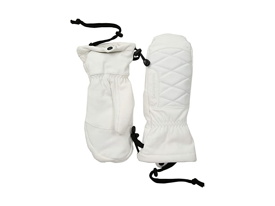 Obermeyer Down Mitten (White) Over-Mits Gloves