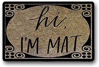 Printed Floor Mat Bath Mat Machine Washable Hi! I Am A Doormat Mat Welcome Mat Doormatwedding Gift Doormat Non Slip Doorma...