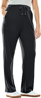 Women's Plus Size Sport Knit Straight Leg Pant