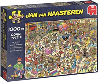 Jumbo 19073 Jan Van Haasteren - The Toy Shop 1000 Piece Jigsaw Puzzle