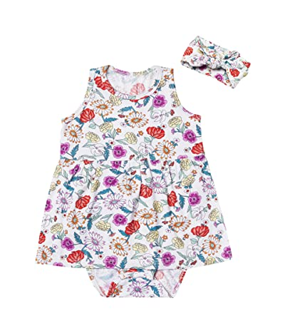 Everly Grey Skirted Bodysuit Two-Piece Set (Infant)