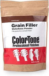 ColorTone Powdered Grain Filler, Mahogany