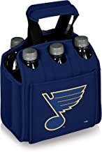 PICNIC TIME NHL St. Louis Blues Six Pack Insulated Neoprene Beverage Tote