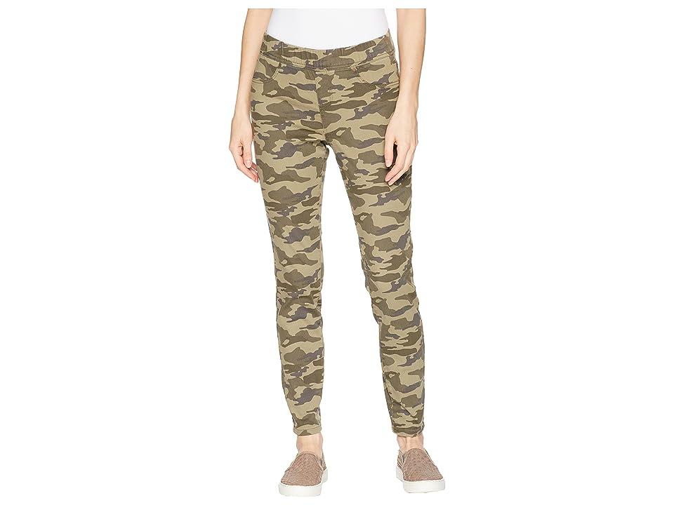 Jag Jeans Marla Denim Camo Leggings (Drab Green Camo) Women