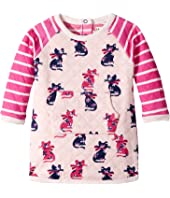 Hatley Kids - Elegant Kitty Mini Quilted Kanga Dress (Infant)