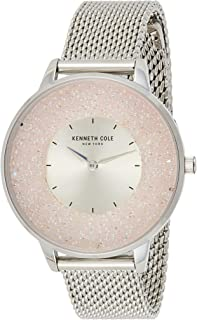 Kenneth Cole Womens CLASSIC with Silver Stainless Steel Bracelet - KC51010003