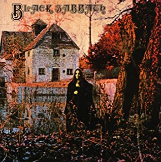 Da Bang Black Sabbath - Black Sabbath Album Cover Art Print Poster 24 x 24