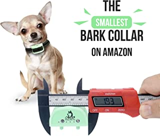 Our K9 Training Made Easy Vibration Bark Collar ​for ​Small Dogs - ​No​ Shock, ​Pain Free ​Control Device