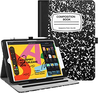 Fintie Case for iPad 7th Generation 10.2 Inch 2019 - [Corner Protection] Multi-Angle Viewing Folio Smart Stand Back Cover with Pocket, Pencil Holder, Auto Wake/Sleep for iPad 10.2