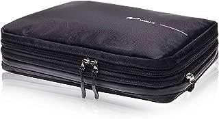 VIVALD 圧縮バッグ 圧縮袋 旅行 便利グッズ 衣類スペース60%圧縮 YKKファスナー