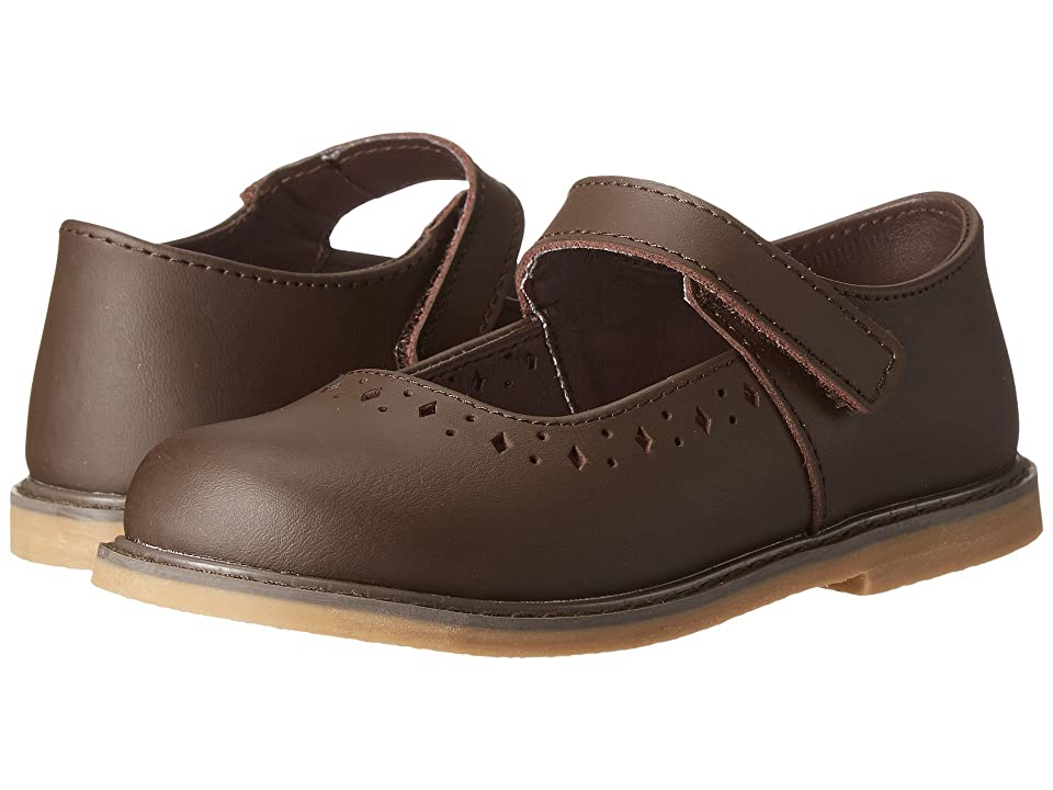 Baby Deer Stitchout Mary Jane (Infant/Toddler) (Brown) Girls Shoes
