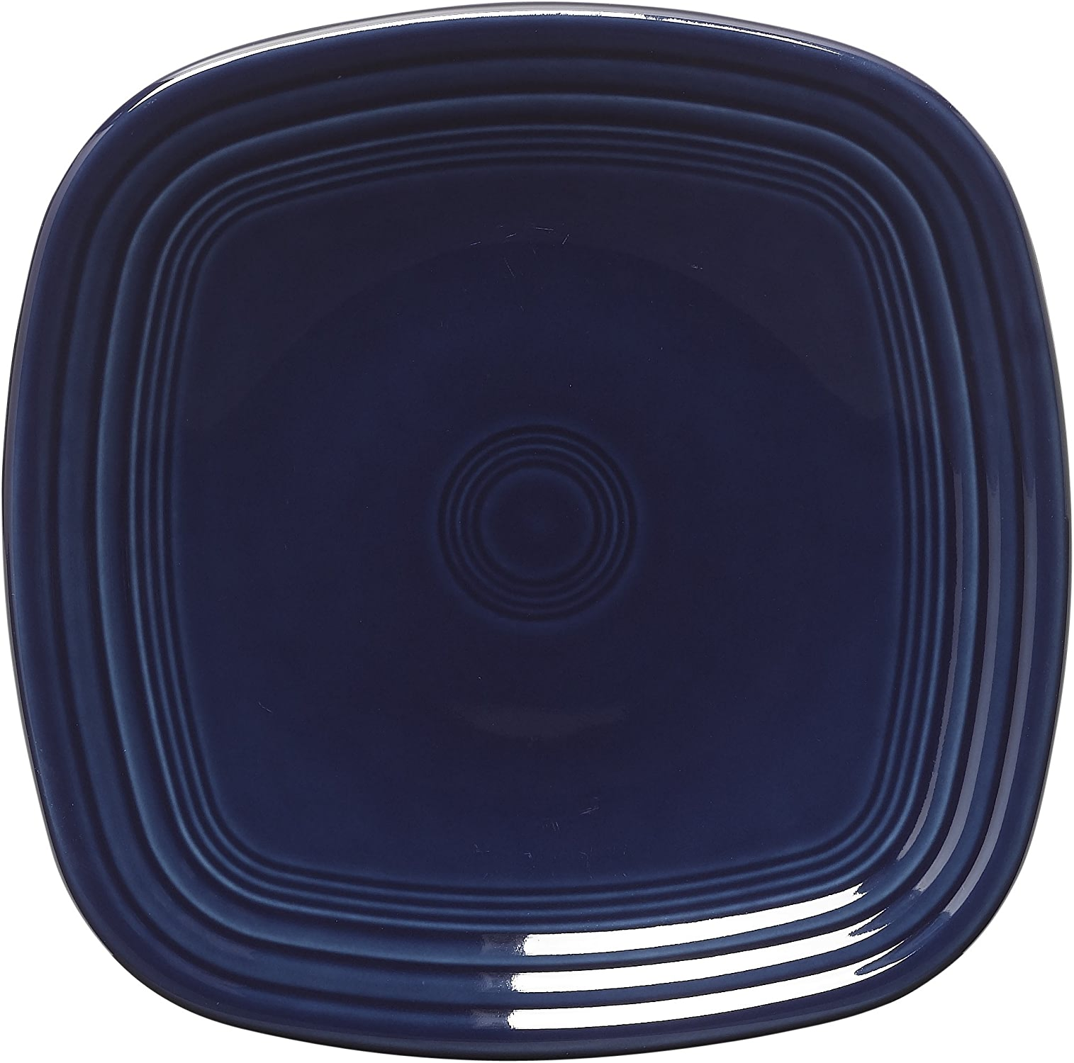 Fiesta 7-3 8-Inch Square Salad Plate, Cobalt by Homer Laughlin