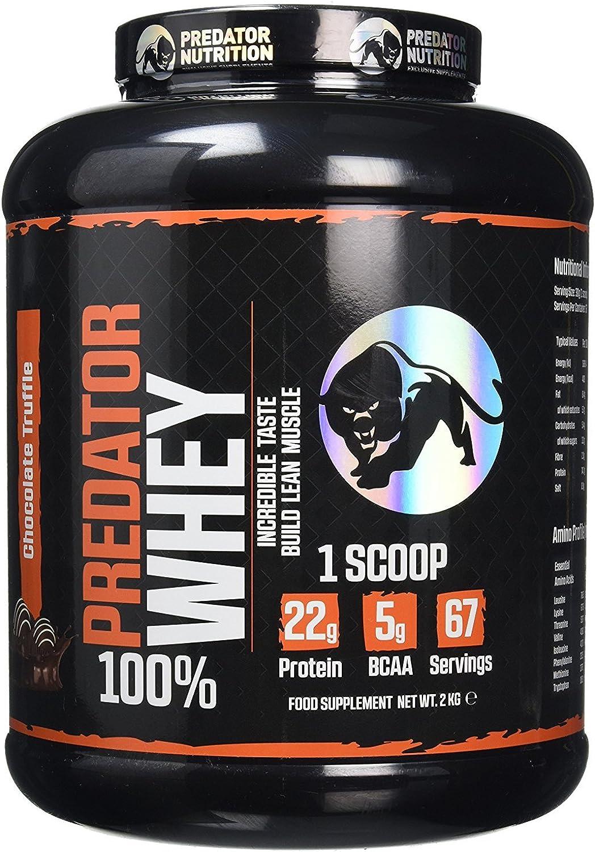 Predator Nutrition 2 Kg Chocolate Truffle Predator Whey Sports Supplements