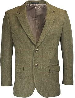 english blazer green