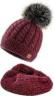 4sold Femme Homme Slouch Bonnet dhiver Chapeau Unisexe Uni Bonnet de ski Chapeau fabriqu/ée au Royaume-Uni