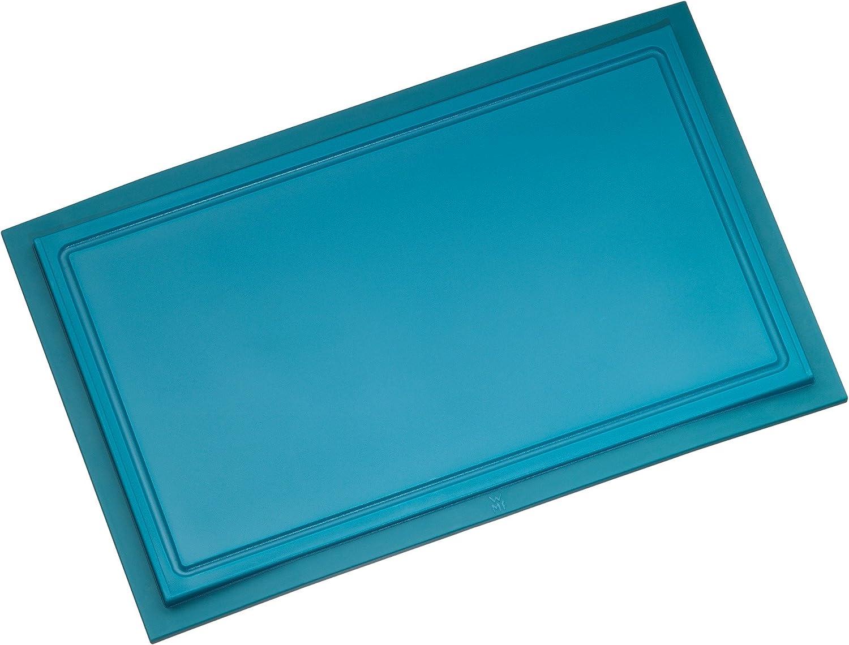 Wmf Schneidebrett Tranchierbrett Touch Lagoon Blau 32 X 20 Cm Rechteckig Aus Kunsstoff Saftrillen Spülmaschinengeeignet Leichte Reinigung Hygienisch Klingenschonend Geschmacksneutral Küche Haushalt